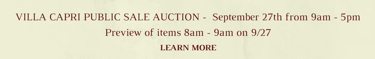 September 27 Auction