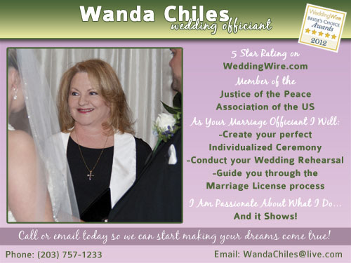 Wanda Chiles - Wedding Officiant